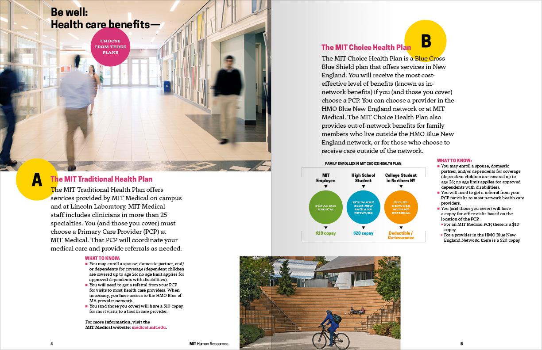 MIT Human Resources benefits brochure | Alexander S  Budnitz